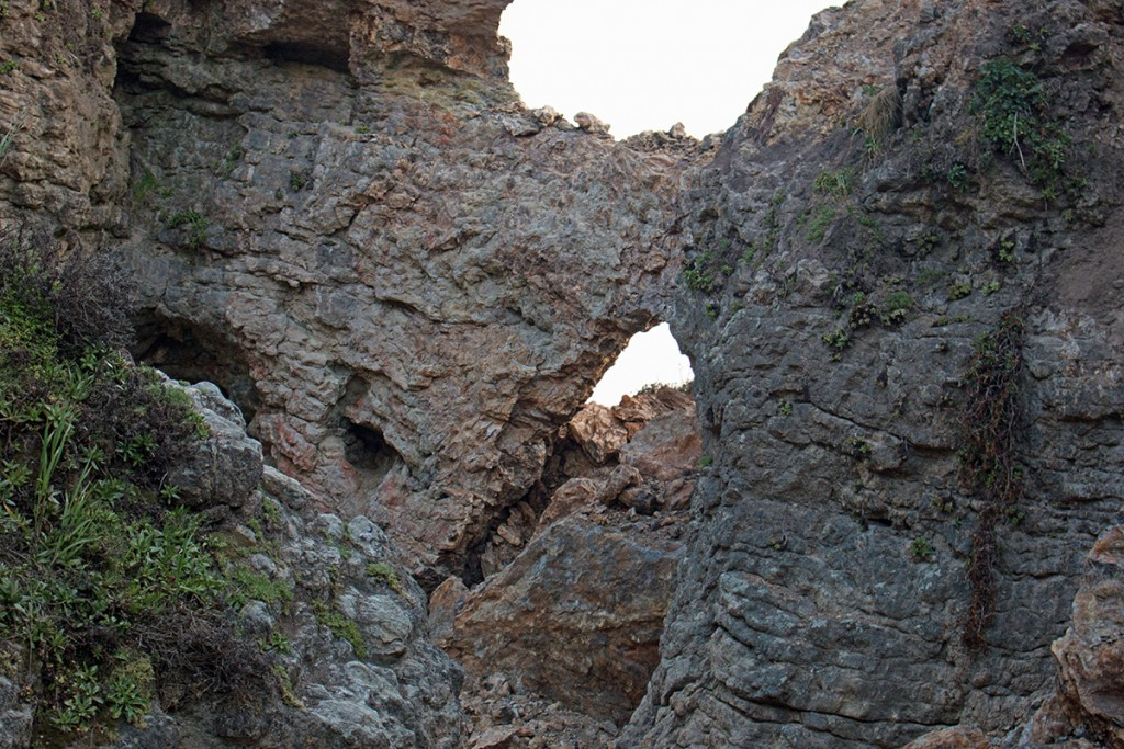 Arch Rock after collapse
