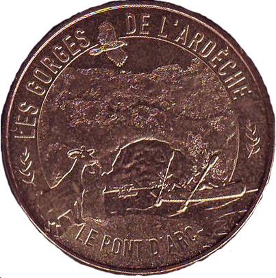 Money: Pont D'Arc France