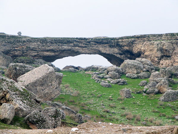 Natural Bridge near Behbahan, Iran