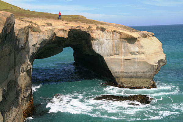 Tunnel Beach Arch, New Zealand
