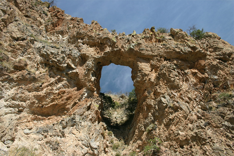 Ramanote Canyon Natural Arch