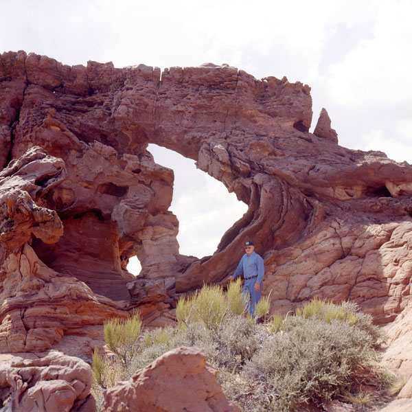 Houserock Valley Arch by Stan Jones