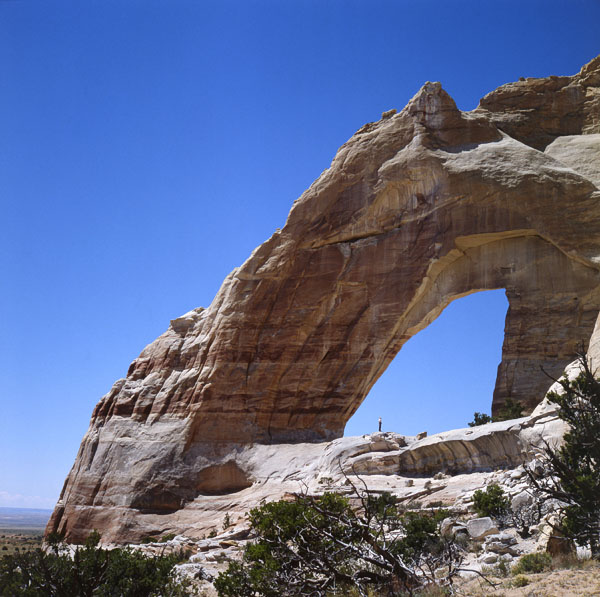 White Mesa Arch by Stan Jones