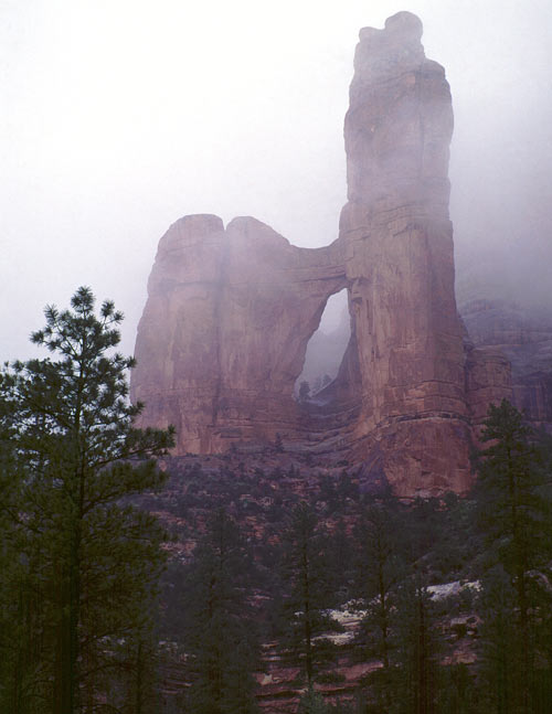 Angel Arch, Arch Canyon