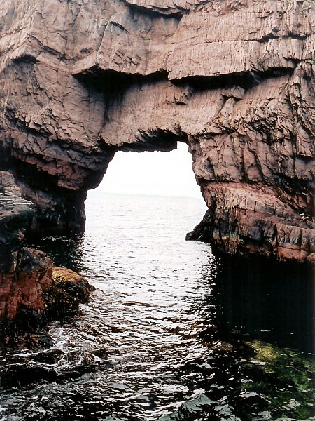 Tickle Cove Arch