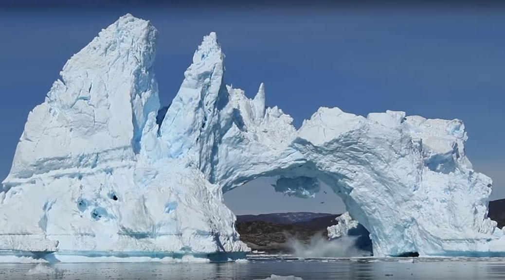 Greenland ice arch